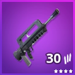 Burst Assault Rifle Epic