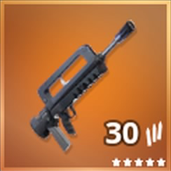 Burst Assault Rifle Legendary