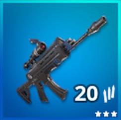 Scoped Assault Rifle Rare