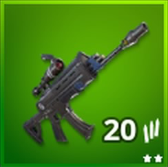 Scoped Assault Rifle Uncommon