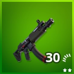 Submachine Gun Uncommon