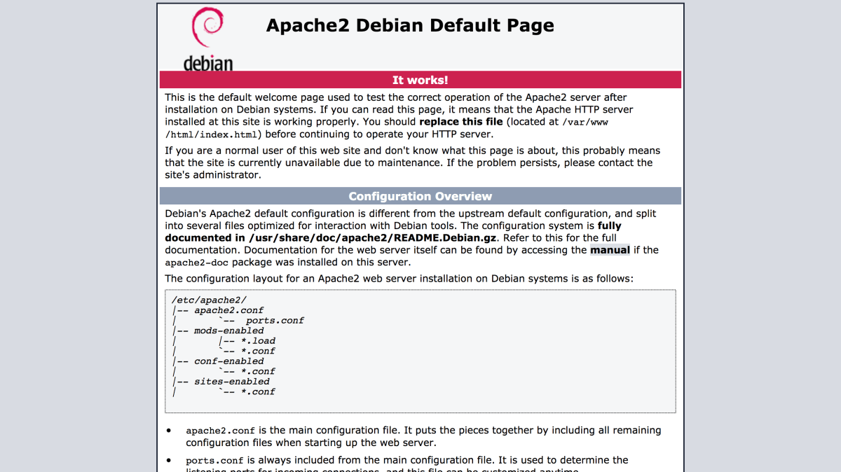 Learn Linux: How to configure Apache on Debian | Patchesoft