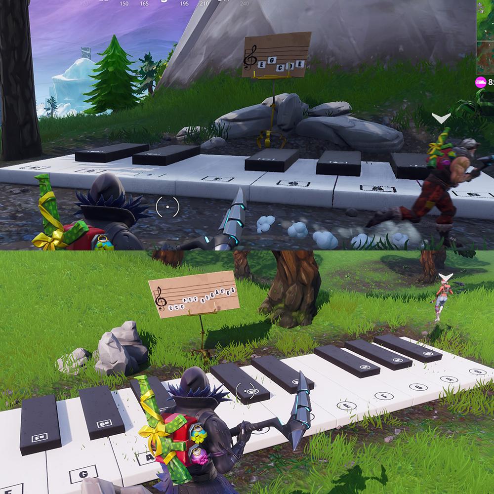 Fortnite Pianos