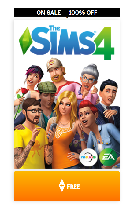 The Sims 4 is now free!