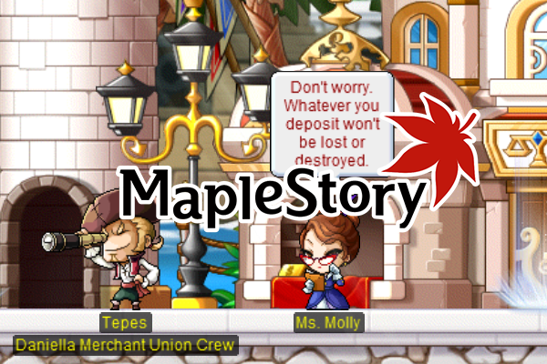 MapleStory Commerci Sweetwater Quests