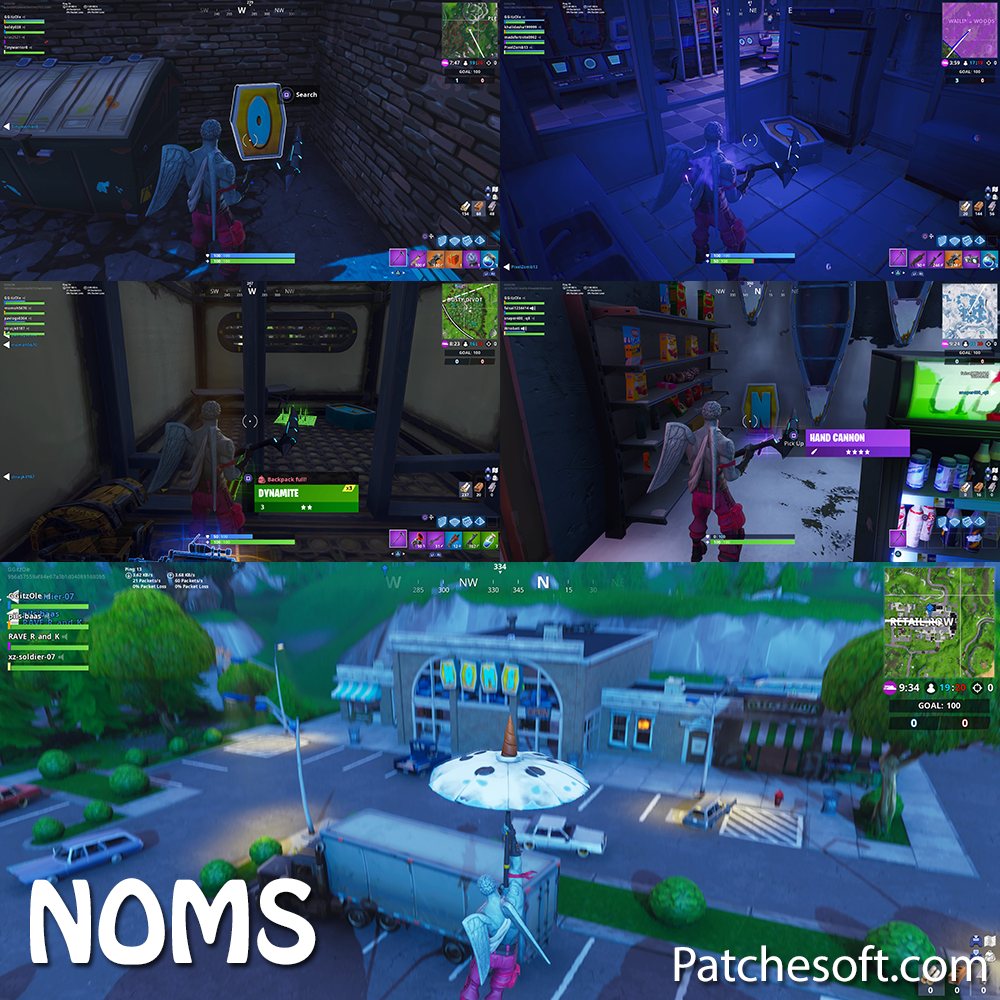 NOMS location fortnite season 7