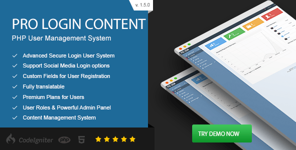 Pro Login Content - CMS Secure User Management System