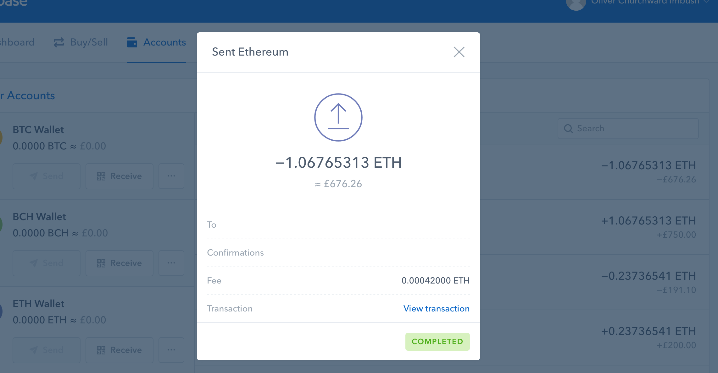 Send Ethereum To Wallet