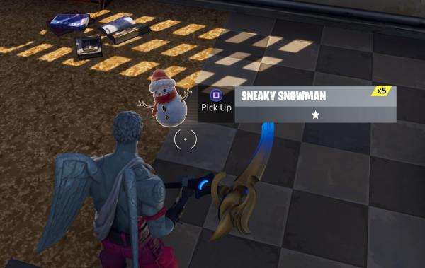 Fortnite Season 7 Week 9 Snowman