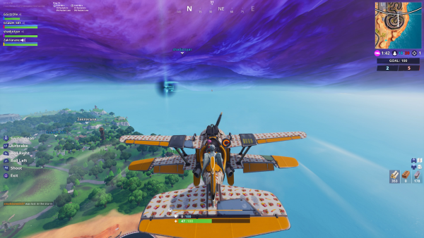Plane Time Trials Fortnite Guide Fortnite Season 7 Week 9 Challenges Patchesoft
