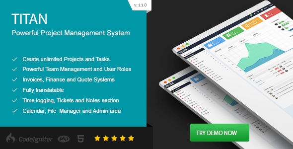 Project Management Tool - Titan