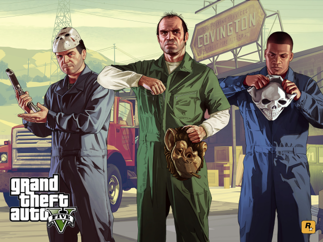Best Laptops For Grand Theft Auto V - GTA V